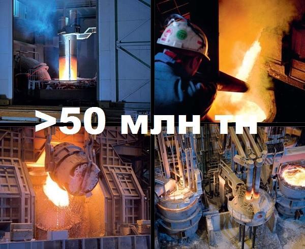Нержавеющая сталь. Объемы производства превысили отметку в 50 млн. тонн!